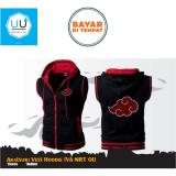 Jual Jaket Rompi Anime Naruto Style Akatsuki Vest Hoodie Va Nrt 01 Black Import