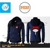 Situs Review Jaket Sasuke Uchiha Double Zipper Hoodie Anime Naruto Ja Nrt 76 Navy Black