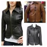 Spesifikasi Jaket Semi Kulit Wanita Code 0005