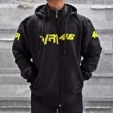 Tips Beli Jaket Sport Valentino Rossi Vr46 Motogp Logo Bordir Best Seller Hitam