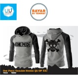 Promo Jaket Sweater Hoodie Anime One Piece Ja Op 55 Best Seller Grey