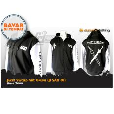 Jaket Sweater Hoodie Anime Sword Art Online (JI SAO 01) Best Seller