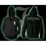 Beli Jaket Sweater Hoodie Zipper L Anime Death Note Best Seller Black Nyicil