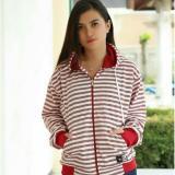 Harga Jaket Sweater Wanita Hoodie Blaster Marun Bahan Katun Di Jawa Barat