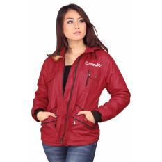 Jual Beli Jaket Sweater Wanita Raindoz Rrl 007 Merah Parasut Di Jawa Barat