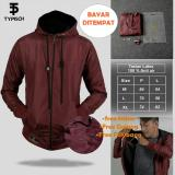 Beli Jaket Thypish Taslan Man Marron 100 Anti Air Terbaru