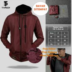 Perbandingan Harga Jaket Thypish Taslan Man Marron 100 Anti Air Di Indonesia