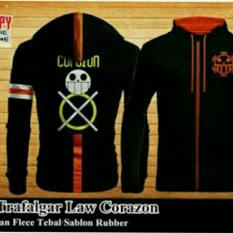 Promo Jaket Trafalgar Law Corazon Bang Cloth Terbaru