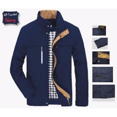 Beli Jaket Treasted Mayer Navy Fashion Outdor And Casual Kredit Jawa Barat