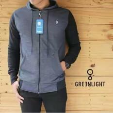Jaket Greenlight Dark Grey Black Unisex