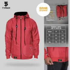 Jaket Typish Taslan Pink 100% anti air