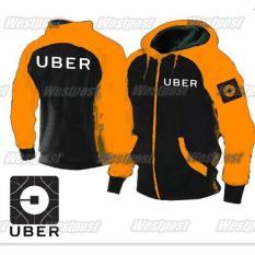 Diskon Jaket Uber Hoodie Zipper Uber Taksi Online Ukuran S M L Xl Xxl Vallenca