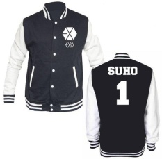 Beli Jaket Varsity Exo Suho 1 Not Specified Murah