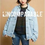 Review Jaket Victoria Zr Jeans Aurora Bio Blitz Oversize Men Women Jacket Afnia Muda Terbaru