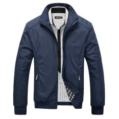 Jaket Virendra Biru Navy Polos DanTersedia jaket murah.Jaket Pria Jaket Distro