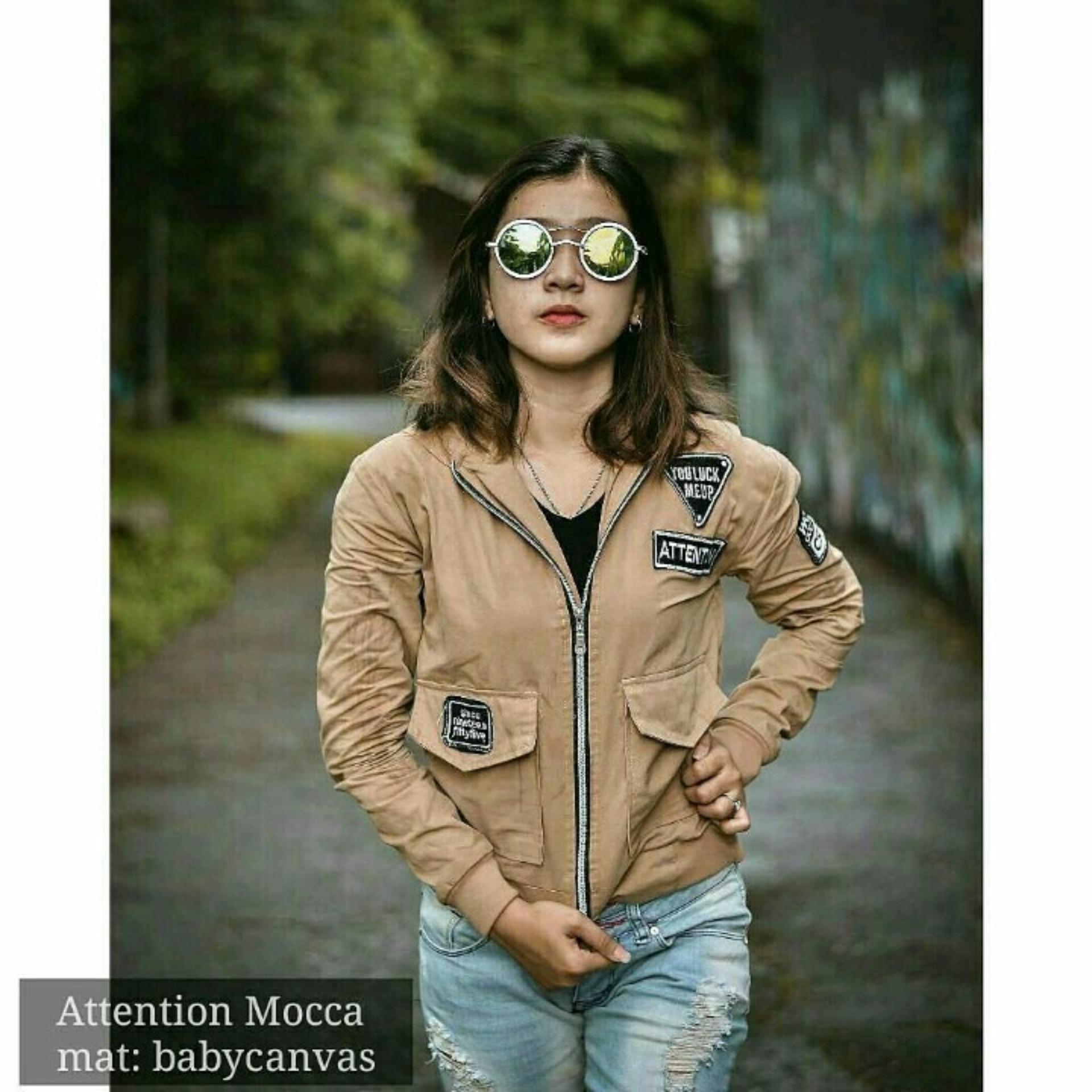 Catenzo Jaket Modis Sporty Wanita Bahan Diadora Grey ... Source · Low Price  jaket a5ac9a7313