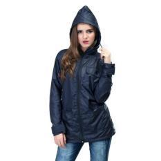 Jaket Wanita Parasut-Jaket Anti Angin-Jaket Distro 100% ORI Murah Navy