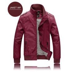 Beli Jaket Wp Maroon Polos Jaket Bola Pria Wanita Diskon Murah Distro Jaket Gunung Motor Tersedia All Club Seken