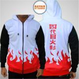 Harga Jaket Yondaime Hokage Naruto Hokage Best Seller White Red Oem Jawa Barat