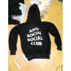 Jaket / Zipper / Hoddie /Sweater Anti Social Club Black - 375Ec6