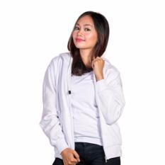 Toko Jaket Zipper Hoodie Putih Polos Terlengkap Dki Jakarta