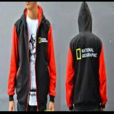 Jaket Zipper Hoodie Sweater NATIONAL GEOGRAPHIC