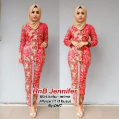 Jakstore Baju Batik Kebaya Berlian SH Modis #Murah #ukuran M, L, XL #Warna dan model 1 set.