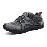 Beli Jalur Sepatu Gunung Climbing Sepatu Olahraga Outdoor Sepatu New Fashion Tahan Lama Mens Hiking Sepatu Mountain Climbing Sepatu Super Bernapas Trekking Sepatu Abu Abu Tiongkok
