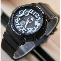 Jam Tangan Casio Baby G Sherina Black White Kw Super - 956E39