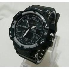 Jam Tangan G-Shock Gwa-1100 Hitam List Abu Kw Super - C75ead