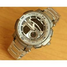 Jam Tangan Pria Casio Edifice Protrek Ranger Silver Super - 55Db97