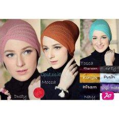 J&C Ciput Hijab Rajut Premium Anti Pusing Nyaman Warna Lengkap