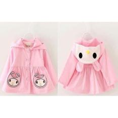 J&c Coat Melody Kid / Jaket Anak / Hoodie Anak / Jaket Kuping / Hoddie Anak / Hoddie Kuping By J&c.