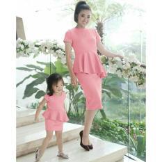 J&C Dress Couple Mom & Kid Wendah Dress / Dress Pesta / Baju Mom & Kid / Baju Ibu dan Anak / Baju Kembar Ibu & Anak / Baju Couple Ibu dan Anak / Dress Korea / Dress Wanita / Rok Wanita / Dress Bodycon /