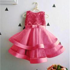 J&C Dress Giovani Fanta Kid / Dress Anak / Baju Anak Brukat / Gaun Pesta Anak / Baju Ulang Tahun / Baju Anak Perempuan