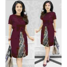 J&C Dress Kombi Batik / Dress Batik / Gaun Batik / Kemeja Batik / Dress Pesta / Mini Dress Batik / Midi Dress /