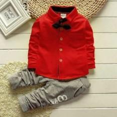 J&C Kemeja Anak Laki Laki Dylon / Atasan Anak / Kaos Anak / Baju 1 Setel