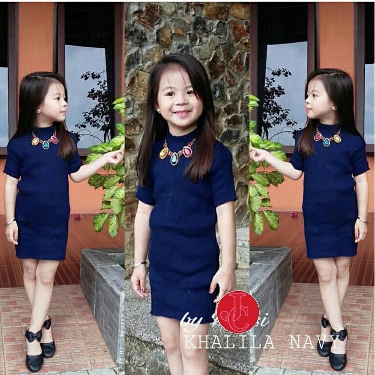 J C Khalila Kid Dress   Baju Rajut Anak   Dress Rajut Anak   Dress Anak   582752bb3b