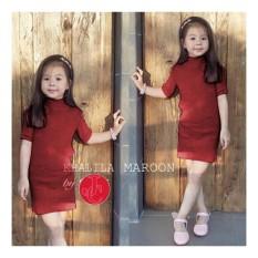J&C Khalila Kid Dress / Baju Rajut Anak / Dress Rajut Anak / Dress Anak / Mini Dress Anak / Midi Dress Anak
