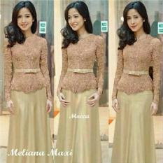 J&C Meliana Dress / Dress Panjang / Dress Brukat / Dress Kebaya / Dress Pesta / Gaun Pesta / Dress Party / Dress Cantik / Hijab Fashion / Hijab Style