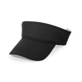 Toko Jango Plain Visor Sun Cap Sport Hat Adjustable Velcro Tennis Beach Men Women Black Terlengkap Di Tiongkok