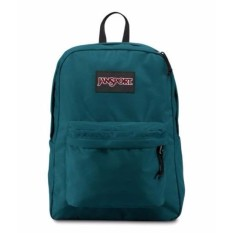 Jansport HITAM LABEL SuperBreak Ransel-Corsair Biru-Internasional