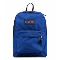Jansport SuperBreak Ransel-Biru Streak-Internasional