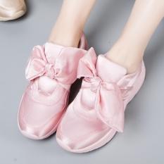 Promo Jepang Sen Angin Wind Bow Olahraga Sepatu Bernapas Kain Sepatu Kasual Pria Intl Oem