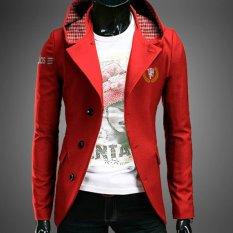 Promo Toko Jas Blazer Hoodie Deluxe Mu Red