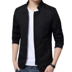 Jas Blazer Pria Mode Korea - Jas Pria Casual - Blazer Pria Model Korean - Black
