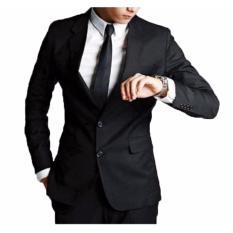 Jas Formal Pria - Hitam Eksklusif - High Quality & Detail