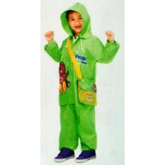 MP Jas Hujan Anak BEAR KIDS - Jaket Celana Anak2x (Green)