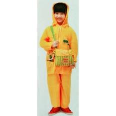 Mp Jas Hujan Anak Bear Kids - Jaket Celana Anak2x (orange) By Stardiva Collection.