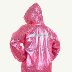 Jas Hujan Jaket Celana Polkadot 810 Plevia Stelan Raincoat Murah terlaris